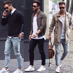 Nur ein paar wichtige Einstellungen, wenn man über die männliche Kleidung spricht