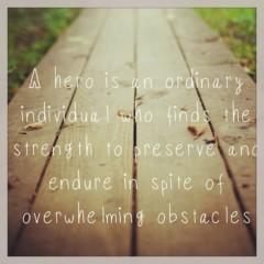 Wer ist dein Held?