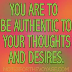 In der Suche nach einer Form der Authentizität
