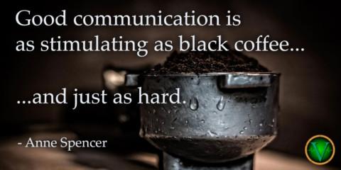 Wir brauchen die Kommunikation