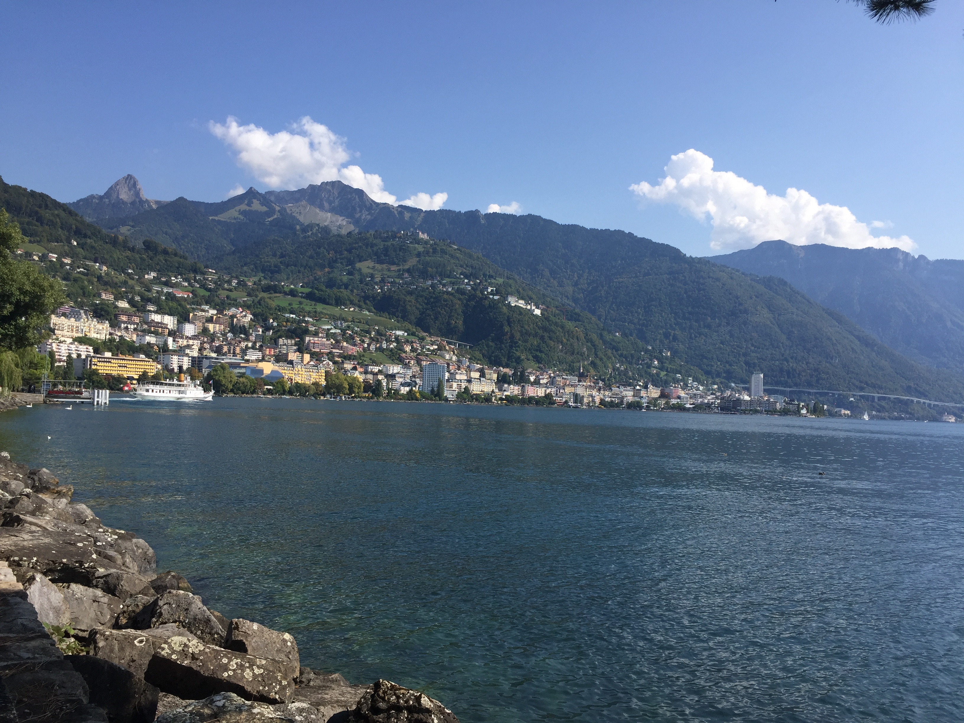 Montreux Menschen Schweiz