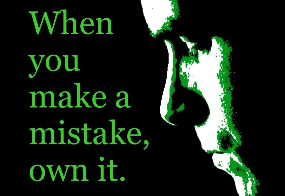 Fehler korrigieren
