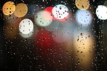 Irgendwo regnete es